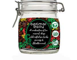 #11 for Design Product Label for a Jar (Herbal Company) by lennel4