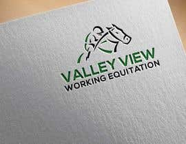 #10 for Valley view working equitation  needs a logo. VVE is the aim so the Vs become the w also. We love the gold horse design but need ears facing forward so happy horse. Club colours are emerald gold, navy and silver. by mnahidabe