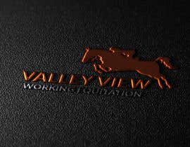 #15 for Valley view working equitation  needs a logo. VVE is the aim so the Vs become the w also. We love the gold horse design but need ears facing forward so happy horse. Club colours are emerald gold, navy and silver. by swapnamondol105