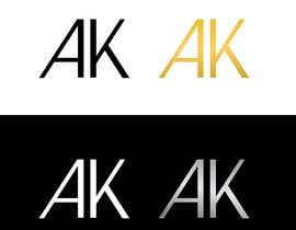 #62 for I need a simple and elegant looking logo that consists only of my initials by RIakash