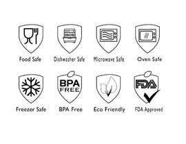 #30 untuk Create 8 food safe symbols for packaging oleh firojmunna84
