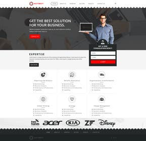 #9 untuk Design a Website for Actegy Consulting oleh logodesire