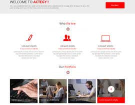 #14 cho Design a Website for Actegy Consulting bởi syrwebdevelopmen