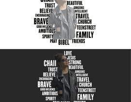 #12 für Word cloud tee shirt design von ABBASLIKHON