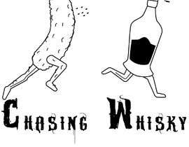 #19 for Illustration of pickle chasing whiskey by Eliasgirma79