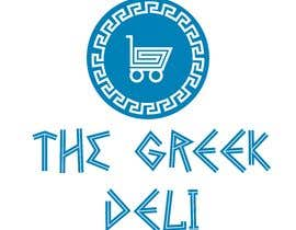 #17 dla Design a Logo for Deli Shop with Greek food and products (The Greek Deli ) przez ovojir