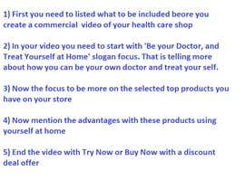 #7 для idea/script for commercial video to advertise online store от netvalue