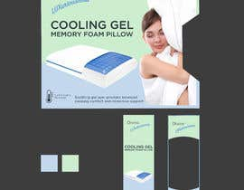 Nro 52 kilpailuun Packaging Concept – New Pillow Product (wireframe template provided) käyttäjältä mishuonfreelance