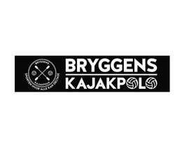 Nro 2 kilpailuun 2 big banners for kayakpolo käyttäjältä gauravvipul1