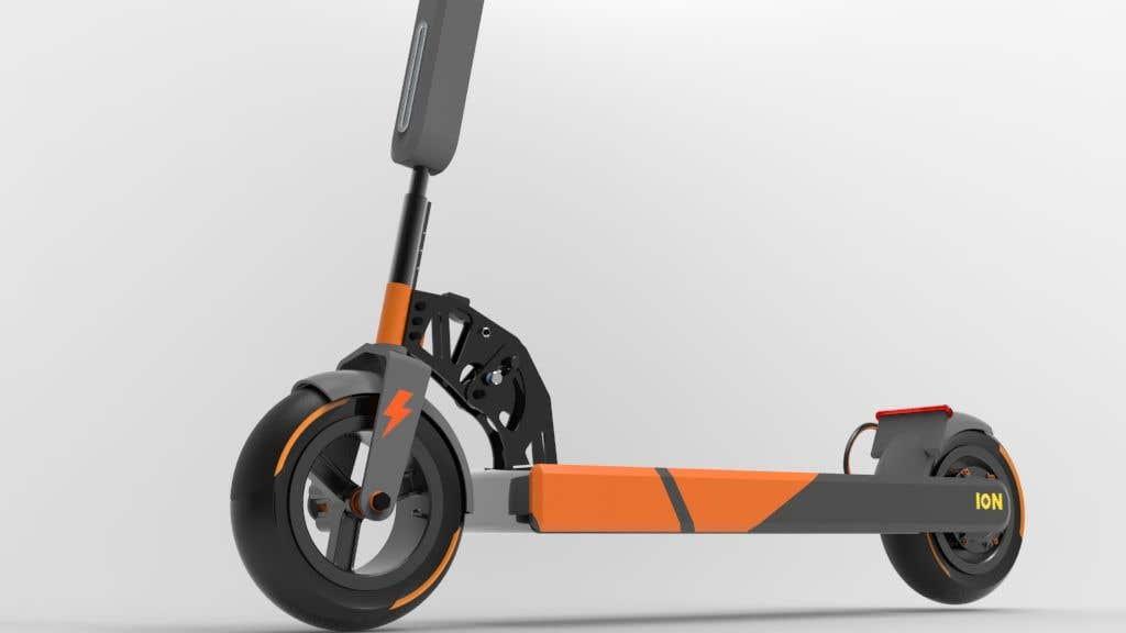 Конкурсная заявка №                                        32                                      для                                         Branding E-Scooter