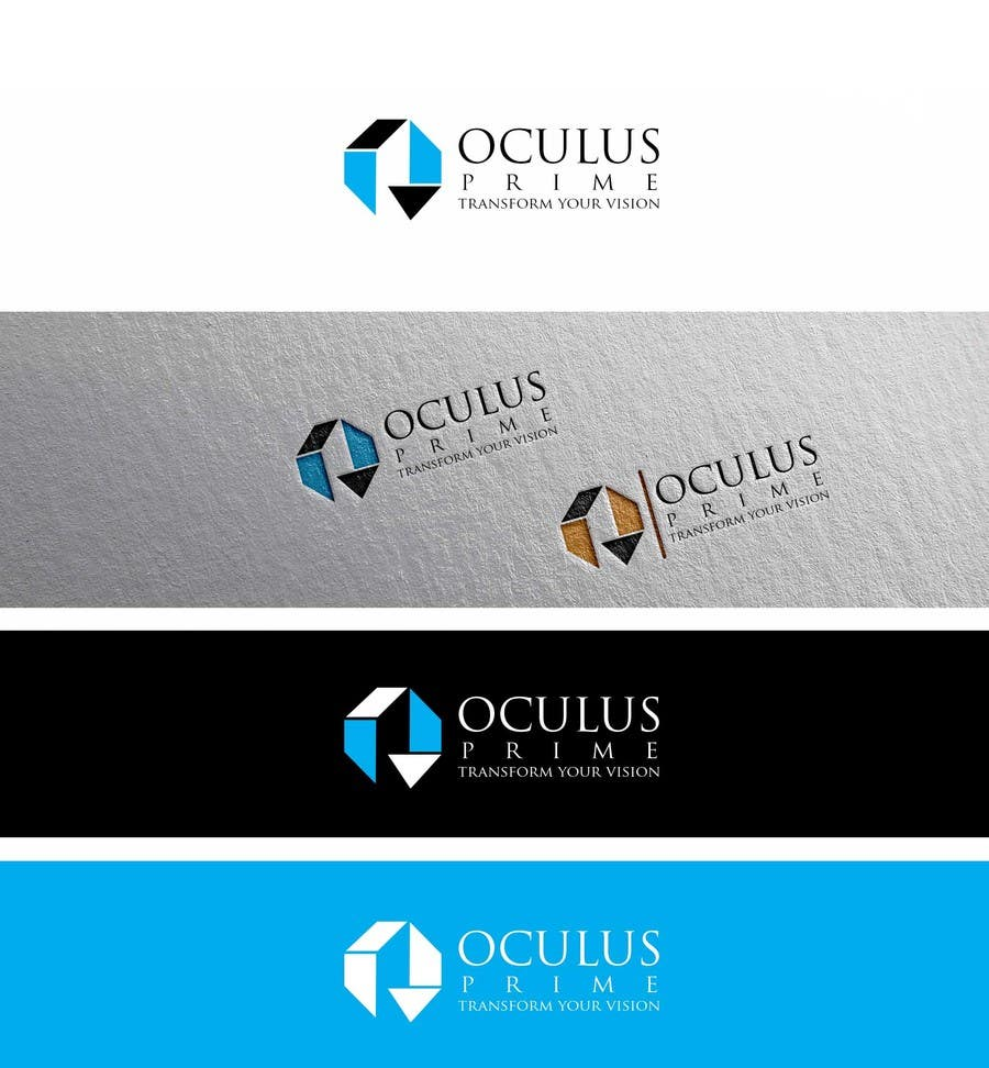 Entri Kontes #57 untukDesign a Logo for 'OCULUS PRIME Pty Ltd'
