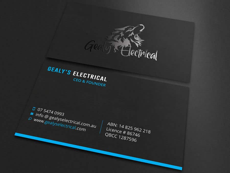 Конкурсная заявка №                                        230                                      для                                         Electrical Business Card