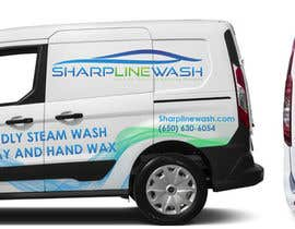 #12 untuk Design graphic on a Cargo Van for my Car wash Business oleh Themaxirule