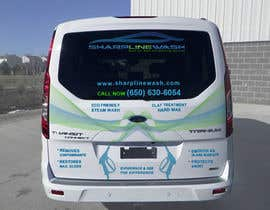 #24 for Design graphic on a Cargo Van for my Car wash Business by pladkani