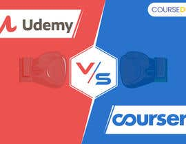 #26 for Banner Design for Blog Page (Udemy vs Coursera) - CourseDuck.com by UdhayasuriyanS