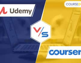 #30 for Banner Design for Blog Page (Udemy vs Coursera) - CourseDuck.com by UdhayasuriyanS