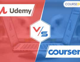 #31 for Banner Design for Blog Page (Udemy vs Coursera) - CourseDuck.com by UdhayasuriyanS