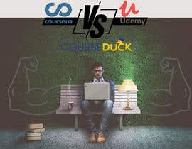 #25 for Banner Design for Blog Page (Udemy vs Coursera) - CourseDuck.com by Kladoo