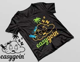 #8 untuk T-Shirt Design (Cloud with a face + little stick figure with skateboard) oleh QasimAs