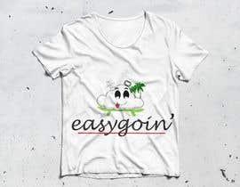 #13 untuk T-Shirt Design (Cloud with a face + little stick figure with skateboard) oleh TFComplex
