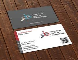 Nro 15 kilpailuun Edit colors and names of a Business Cards in Adobe Illustrator käyttäjältä flechero