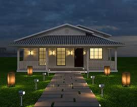 Nro 34 kilpailuun Exterior simple house 3D design (03 views) käyttäjältä azeemkiyani786