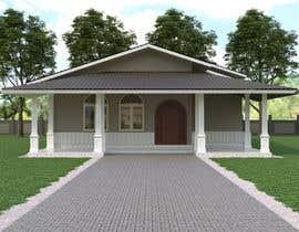 Nro 39 kilpailuun Exterior simple house 3D design (03 views) käyttäjältä mainulparvez