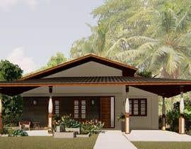 Nro 28 kilpailuun Exterior simple house 3D design (03 views) käyttäjältä ilustrarq