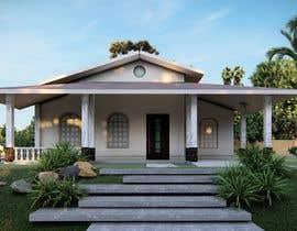 Nro 38 kilpailuun Exterior simple house 3D design (03 views) käyttäjältä ahmedfakhry99