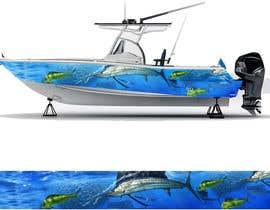 Nro 19 kilpailuun Graphic design for boat wraps käyttäjältä muaazbintahir