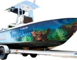 Nro 22 kilpailuun Graphic design for boat wraps käyttäjältä muaazbintahir