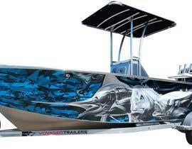 Nro 23 kilpailuun Graphic design for boat wraps käyttäjältä muaazbintahir