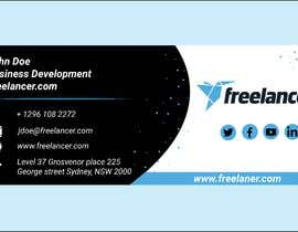 #79 for Create an Email Signature for Freelancer.com by deluwar1132