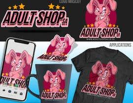 Nro 154 kilpailuun Design a Bunny Logo for Adult Shop SA website that is funny, naughty and kinky. käyttäjältä GribertJvargas