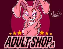 Nro 155 kilpailuun Design a Bunny Logo for Adult Shop SA website that is funny, naughty and kinky. käyttäjältä GribertJvargas