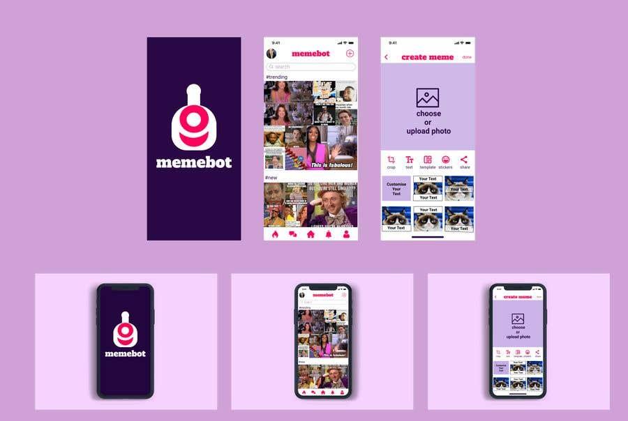 Kilpailutyö #                                        11                                      kilpailussa                                         App UI Graphic Design Needed