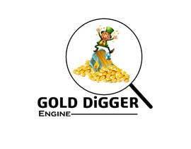 Nro 7 kilpailuun Logo: Gold Digger Engine käyttäjältä shahrukhk0081