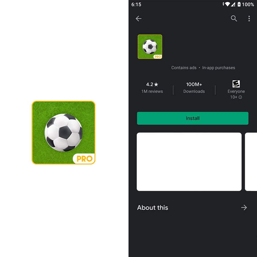 Kilpailutyö #                                        12                                      kilpailussa                                         Very Minor Updates to Android and iOS App Store Icon