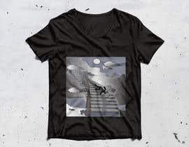 #30 untuk Design for Hoodie/T-Shirt (Stairway to heaven + Stick figure) oleh shaulatvw