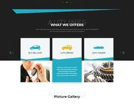 #25 for Web design and development for Car Dealership by faridahmed97x