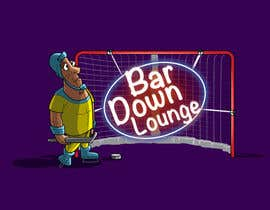 #7 for Illustrate Something for a Bar Down Lounge logo by kunjanpradeep
