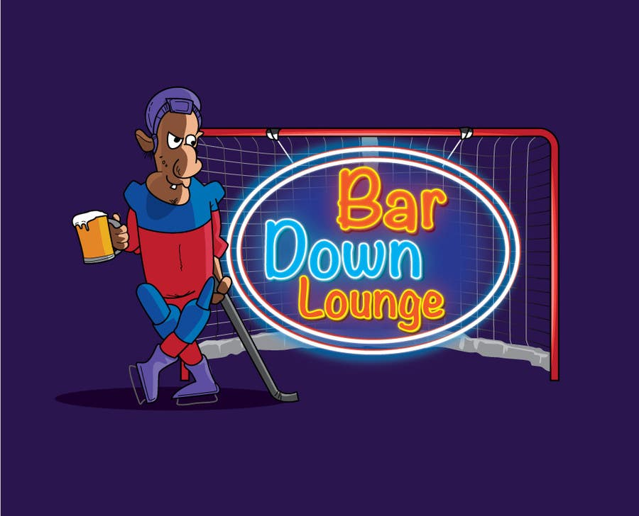Contest Entry #11 for Illustrate Something for a Bar Down Lounge logo