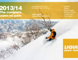 #38 untuk Front cover design for Japan ski brochure oleh gastonUK