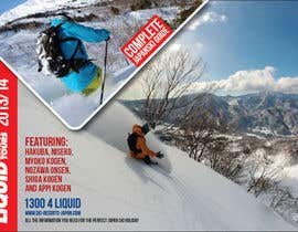 #109 for Front cover design for Japan ski brochure by NexusDezign