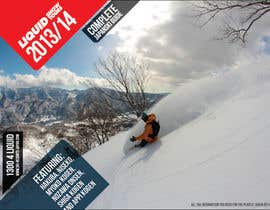 #112 untuk Front cover design for Japan ski brochure oleh NexusDezign