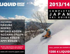 #39 untuk Front cover design for Japan ski brochure oleh slobodancagicvw