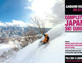 #2 untuk Front cover design for Japan ski brochure oleh premgd1