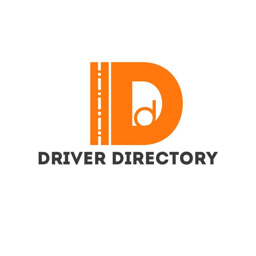 "Proposition n°                                        3                                      du concours                                         Design a Logo for ""Driver Directory"""