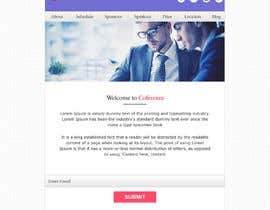#4 untuk Mockup - redesign existing E-mail newsletter with new branding oleh webidea12
