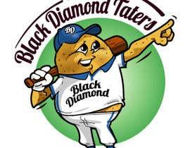 Nro 60 kilpailuun Baseball Team Logo käyttäjältä jaywdesign